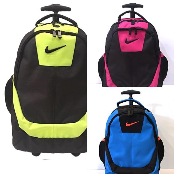 timeless design 8c312 3bea8 Nike Core Rolling Backpack School Bag Laptop  85